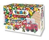 PlayMais Fun TO Play Camión de Bomberos para niños y niñas a Partir de 3 años I Juguete Educativo con 500+ Piezas, 4 Plantillas e Instrucciones I Fomenta la Creatividad y la motricidad Fina