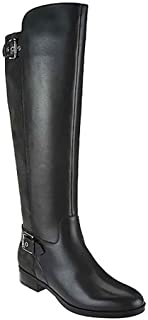 New Womens Damsel Tall Shaft Leather Boots ASO QVC-Pick Size & Color