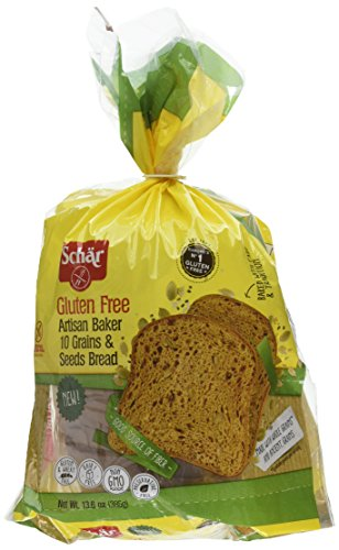 Schar Gluten Free Artisan Baker 10 Grain & Seeds Bread, 6 Count