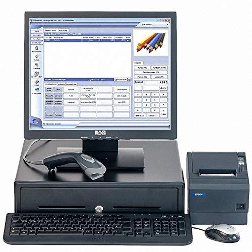 Touch-Computerkasse für den Einzelhandel mit Software CCS-Group X1 (GoBd-konform, Ready for 2020), sehr einfache Bedienung, für alle Branchen geeignete EDV-Kasse mit Warenwirtschaft (Windows 10 Prof.)