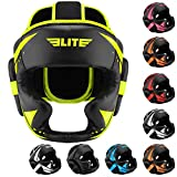 Boxing MMA Sparring Kickboxing Headgear for Men, Elite Sports Muay Thai Boxing Head Guard Helmet for Head Protection