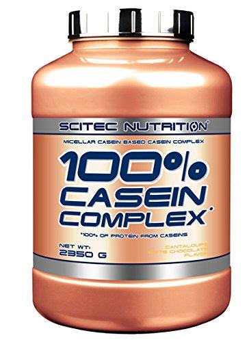 Scitec Nutrition 100% Casein Complex protéine chocolat blanc-melon 2350 g