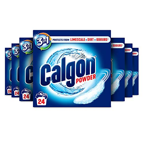 Calgon 3-in-1 Washing Machine Cleaner and Water Softener Powder, 7 x 600 g (4.2 kg)