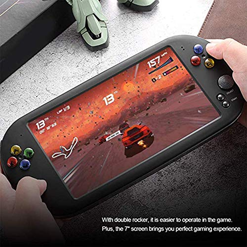 Handheld Game Console, PSP X16 Game Console -7-Inch HD Groot Scherm 8GB /Ingebouwde 3000 Games Arcade/Handheld Game Console Ondersteuning CPS/GBA/SFC/MD/FC/GB/GBC