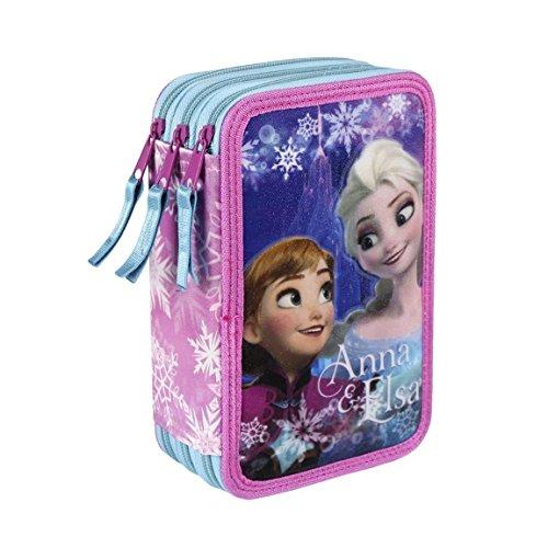 Frozen Disney - Frozen astuccio Giotto Fila 3 zip completo - 8427934810741