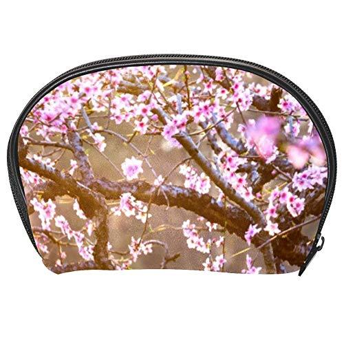 Bennigiry Trousse de toilette multifonction Motif fleurs de cerisier
