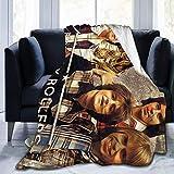 New-WWorld-Shop Bay City Rollers Soft Sheep Decke, geeignet für Erwachsene oder Kinder Sofa oder Bett 60 * 80inch