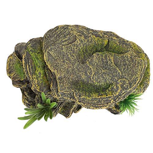 Redxiao Hábitat de Reptiles de Tortugas, Cuevas de escondite de Anfibios de Acuario de Acuario, Forma Agradable para Reptiles