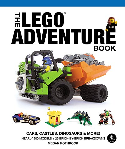 The LEGO Adventure Book, Vol. 1: Cars, Castles, Dinosaurs & More!: Cars, Castles, Dinosaurs and More!