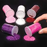 Baker Ross Glitter Shakers, Perfect for Children to Decorate and Personalise Cards, Decorations and Pictures, Ideal for Home Projects, School Projects , Craft Group Activities and More (Pack of 5)