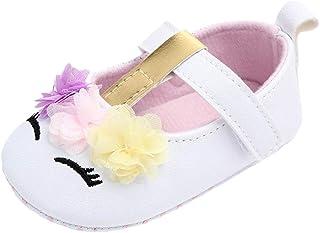 WINJIN Chaussures Cuir Souple bébé et Bambin Chaussures de Bébé en Premiers Pas Mignon Cartoon Chaussons Semelle Douce Pan...