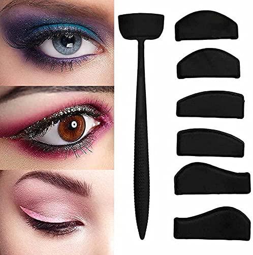Crease Line Kit, Lidschatten-Applikator,Silikon-Lidschatten-Stempelfalten-Werkzeuge faul schnelle Augen-Make-up-Tool für Frauen Mädchen