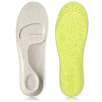 Dr Foot s Arch Support Insoles Anti-Sweat Foam Comfortable Insoles for Shock Absorption and Relief from Plantar Fasciitis Metatarsal and Heel Pain Diabetic Foot Pain M Men 6-9/ Women 7-11