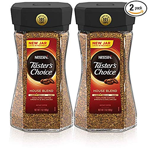 Nescafe Taster's Choice House Blend Instant Coffee, 7...