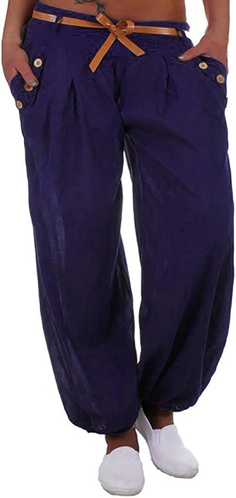 High Waist Style Sports Yoga Trouser Women Long Pants Casual Casual Pants