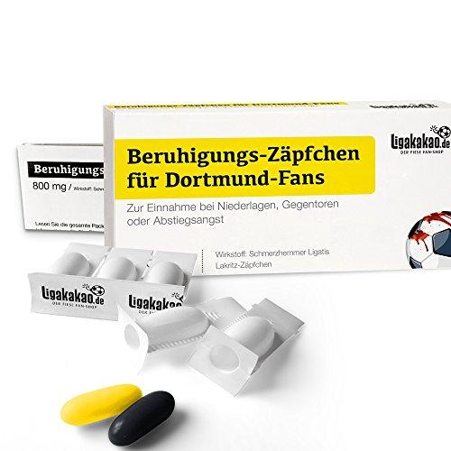 Alles für Dortmund-Fans by Ligakakao.de Fanartikel männer ist jetzt BERUHIGUNGS-ZÄPFCHEN