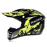 Casco de motocross Casco de bicicleta de montaña de cara completa Casco de motocross de cara abierta Casco de motocross Monster con gafas aprobado por DOT