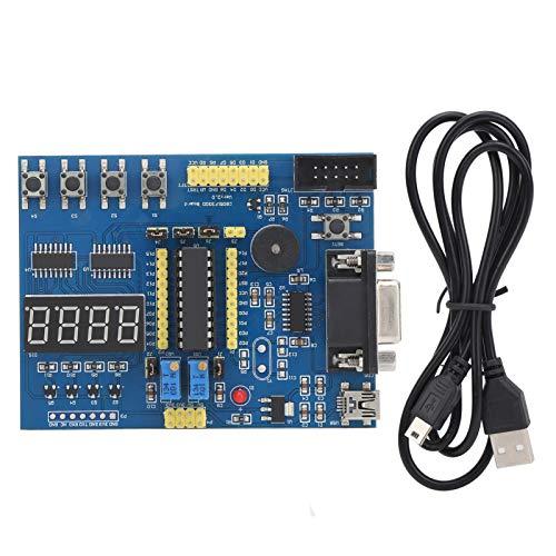 Placa de Desarrollo de Aprendizaje del Sistema, módulo de experimentos C8051F 3-5V, componentes de Control Industrial para Modelos de Aprendizaje 51, STC, AVR de microcomputadoras de un Solo Chip