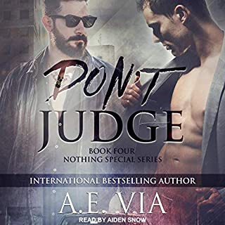Don't Judge audiobook cover art
