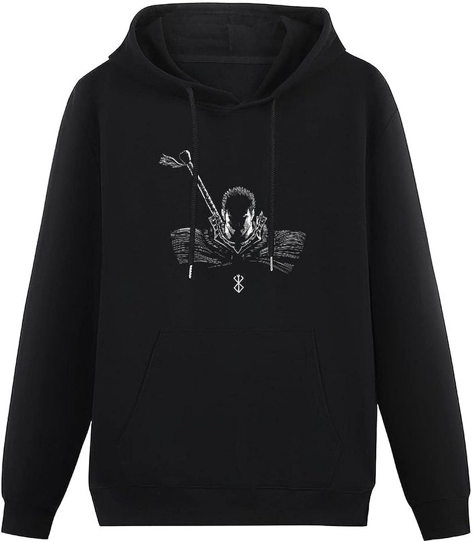 Hasekawa Berserk Teen Hooded Sweatshirt,Fashion Pullover Hoodie Sweater for Boys Girls