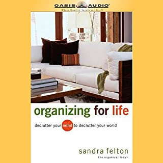 Organizing for Life audiobook cover art