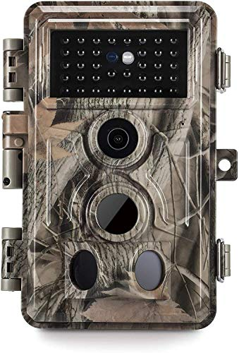 Meidase SL122 Pro Trail Camera 16MP 1080P Game Camera with Advanced H.264 Video and Enhanced Night Vision 0.2S Trigger Speed 82ft Motion Activated Wide 110° View Angle Waterproof
