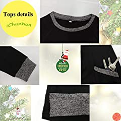 iChunhua Women Tunic Tops Cotton Winter Plain Long Sweatshirt Oversized Jumper Black-S2 L #3