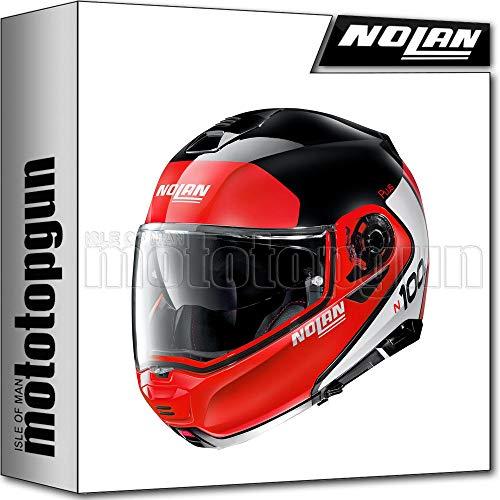 NOLAN CASCO MOTO MODULARE N100-5 PLUS DISTINCTIVE GLOSSY NERO 027 TG. L