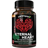 Eternal Heart Natural Blood Pressure Support Supplement for Heart & Circulatory Health - Blood Pressure Pills to Lower Blood Pressure Naturally w/CoQ10, Vitamin K2 MK7, Dan-Shen, Hawthorn