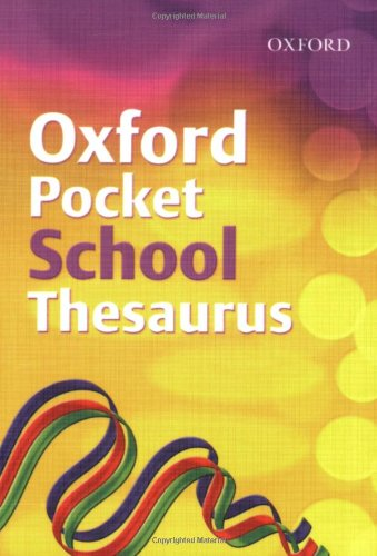OXFORD POCKET THESAURUS