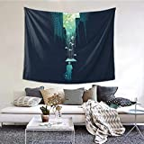 Light Boy Wide Wall Dector Tapestry, Luxury Wall Hanging Tapestry for Bedroom Living Room 60 X 51 Inch