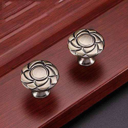 HXiaDyG keukenkast hardware 8 ronde bronzen kast ladekast handgreepknop, duurzaam en praktisch om wild te maken