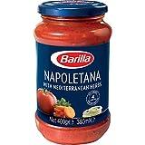 Barilla Salsa Napolitana, Tomate con Hierbas Aromáticas, 400g