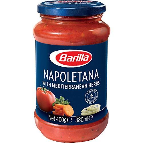 Barilla - Salsa Napolitana (Tomate con hierbas aromáticas), 400 g