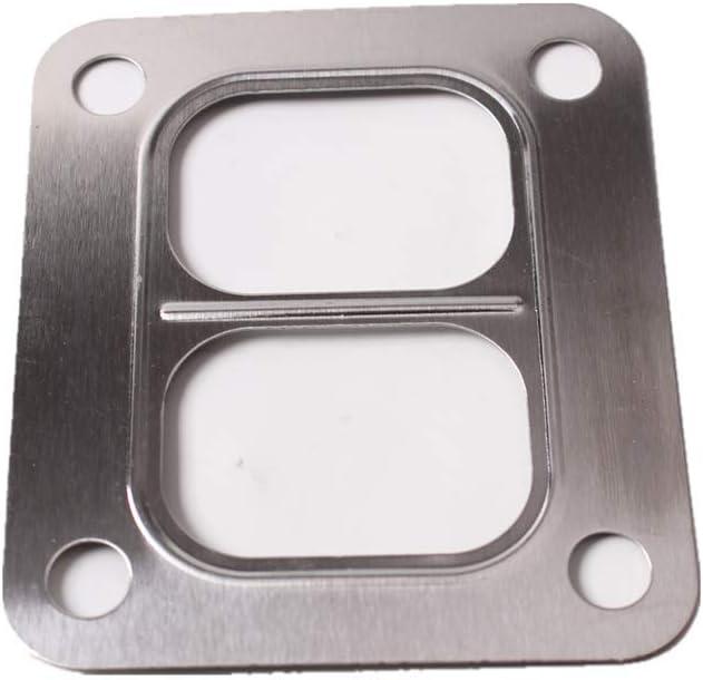 T3 Turbo Turbocharger Inlet Gasket Stainless Steel T3//T4 Garrett 2 PACK