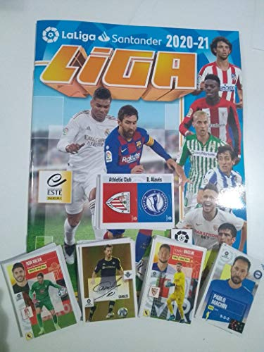 'N/A' 1ª edición Completa (394 cromos + Album) Liga Este 2020 2021