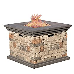Christopher Knight square fire pit