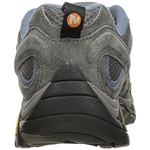 Merrell Women's Moab 2 Waterproof Hiking Shoe, Granite, 8.5 M US