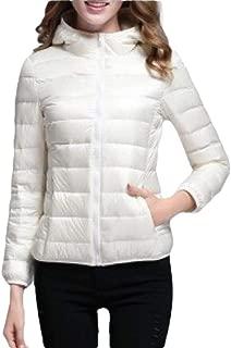 Women Hooded Lightweight Down Jackets Puffer Coats