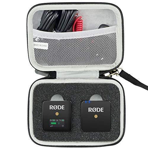 WERICO Viaggiare Conservazione Il Trasporto Scatola Borsa per Rode microphones Wireless GO - Sistema microfono wireless compatto