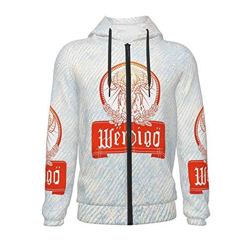 Yuanmeiju Ja-Germeister Teen Zip Hoodie Lässiger 3D-Digitaldruck Jungen Mädchen Hoodie Sweatshirt Jacke