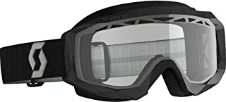 Scott Hustle X Enduro MX - Gafas de esquí, color negro, gris y transparente