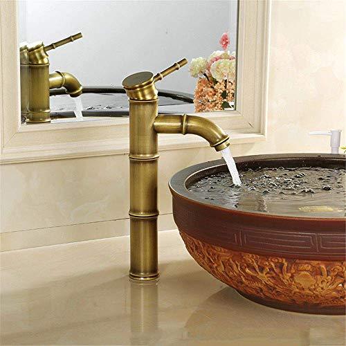 Koper Oude Gezicht Kraan Retro Platform Basin Hand Wassen Basin Koud Water Mixer Badkamer wastafel Kraan Enkele Hand Dubbele Hand Aansluiting