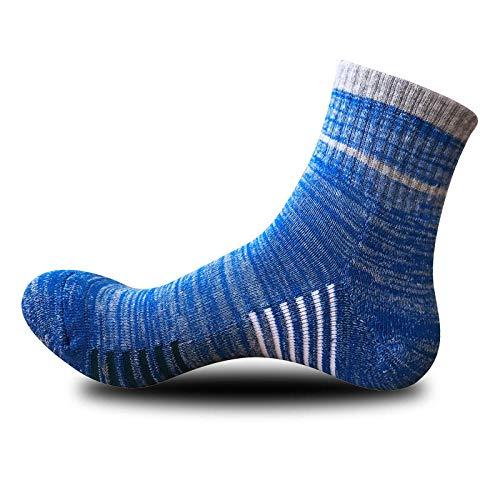 TIGERROSA kleuren sokken 3 paar / kwaliteit man verticale strepen sokken casual zakelijk korte sokken mannen normale lak gestreepte ademende katoenen sokken blauw