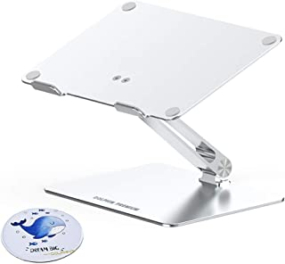 Sponsored Ad – Dolphin Premium Adjustable Foldable Aluminum Laptop Stand, Notebook Stand Cooling Ventilated Laptop Desk Re...