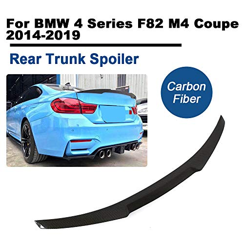 TGFOF Für 4er F82 M4 Coupe 2014-2019 Carbon Spoiler Heckspoiler Abrisskante Heckflügel Lippe