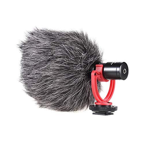 Docooler Ad-M2 Direcional Microfone Condensador Microfone Construção Metal Video Mic 3.5Mm Plug Para O Iphone 6/6 Plus Para Samsung Huawei Smartphone Para Canon Nikon Sony Dslr Camera