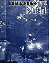 2004 BOMBARDIER ATV RALLY 200 P/N 219 100 178 SHOP/SERVICE MANUAL (581)