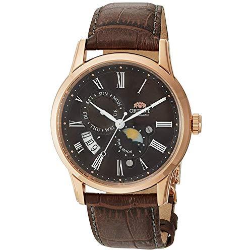 Orient Reloj Analógico para Hombre de Automático con Correa en Cuero FAK00003T0