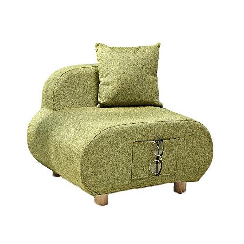G-Y Canapé Paresseux, Canapé De Salon, Canapé Simple, Simple Canapé De Style Européen En Tissu, Canapé Simple Et Relaxant (coton Et Lin) (Couleur : Vert)